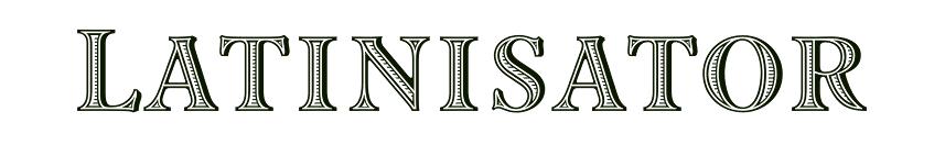 Latinisator.ch header image
